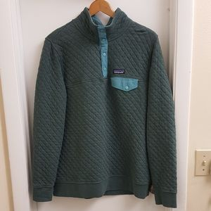 😍Patagonia organic cotton quilted size large